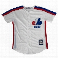 Montreal Expos Cool Base Cooperstown YOUTH Replica Home Fan Baseball Jersey