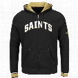 New Orleans Saints Anchor Point Full Zip NFL Hoodie