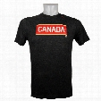 Team Canada IIHF Tri-Blend Olympic Logo T-Shirt (Black Heather)