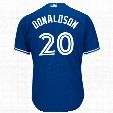 Toronto Blue Jays Josh Donaldson 2017 Cool Base Replica Alternate MLB Baseball