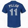 Toronto Blue Jays Kevin Pillar MLB Player Name & Number T-Shirt