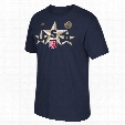 USA Hockey 2016 World Cup Of Hockey Triple Star Go To T-Shirt (Navy)