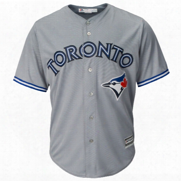 Toronto Blue Jays 2017 Cool Base Replica Road Mlb Baseball Jersey