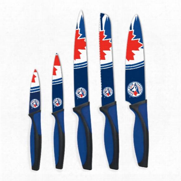 Toronto Blue Jays 5-piece Kitchen Knife Set