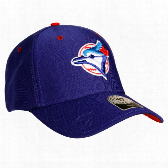 Toronto Blue Jays Cooperstown Big Boss Stretch Fit Cap (royal)