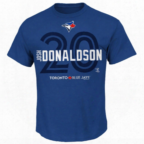 Toronto Blue Jays Josh Donaldson Line-up T-shirt