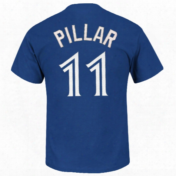 Toronto Blue Jays Kevin Pillar Mlb Player Name & Number T-shirt