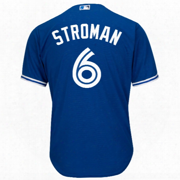 Toronto Blue Jays Marcus Stroman 2017 Cool Base Replica Alternate Mlb Baseball