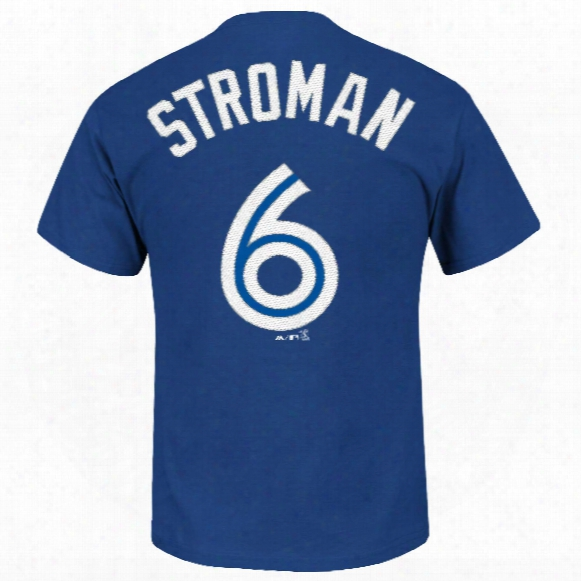 Toronto Blue Jays Marcus Stroman Youth Mlb Player Name & Number T-shirt