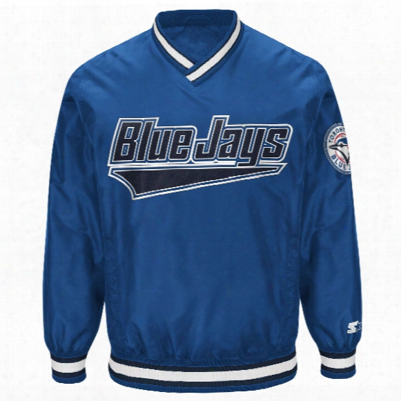 Toro Nto Blue Jays Starter Gameday Pullover Jacket