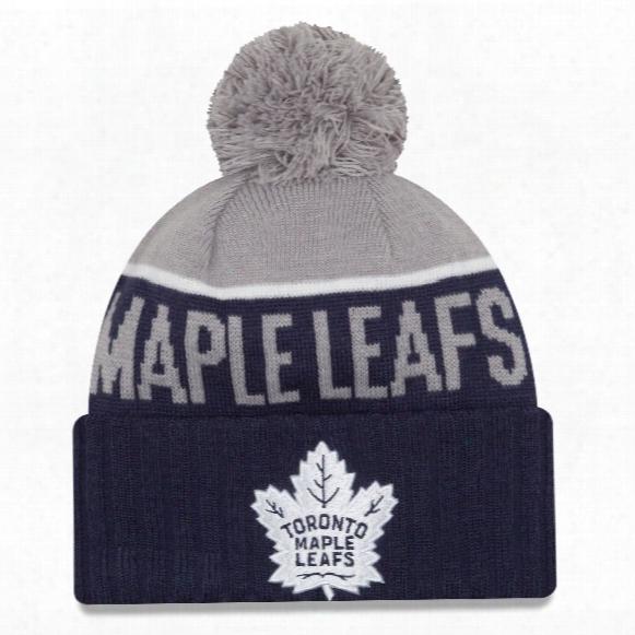 Toronto Maple Leafs New Era Nhl Cuffed Sport Knit Hat