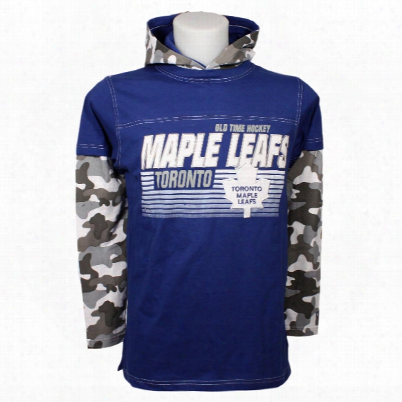 Toronto Maple Leafs Youth Mclean Long Sleeve Jersey Hoodie