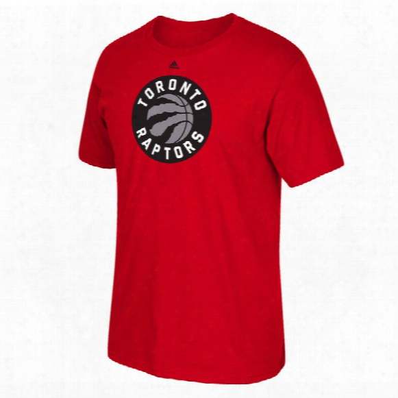 Toronto Raptors Adidas Nba Primary Logo T-shirt