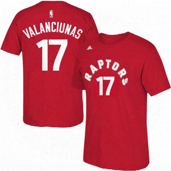 Toronto Raptors Jonas Valanciunas Nba Name & Number T-shirt