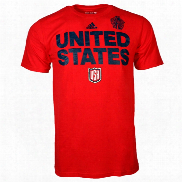 Usa Hockey 2016 World Cup Of Hockey Team Foont Go To T-shirt (red)