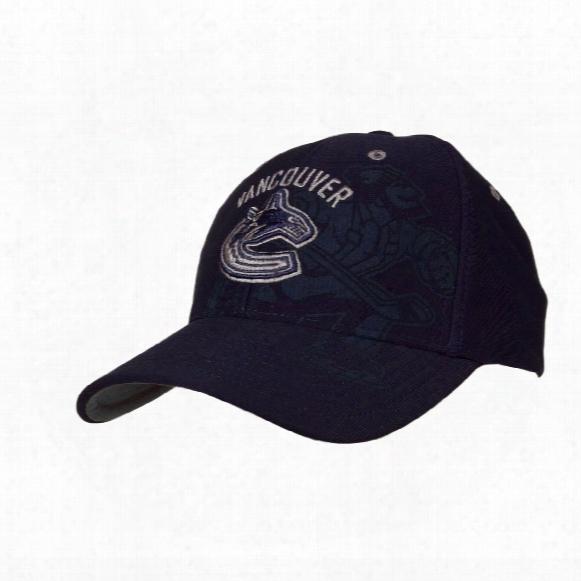 Vancouver Canucks Dark Mace Stretch Fit Cap (navy)