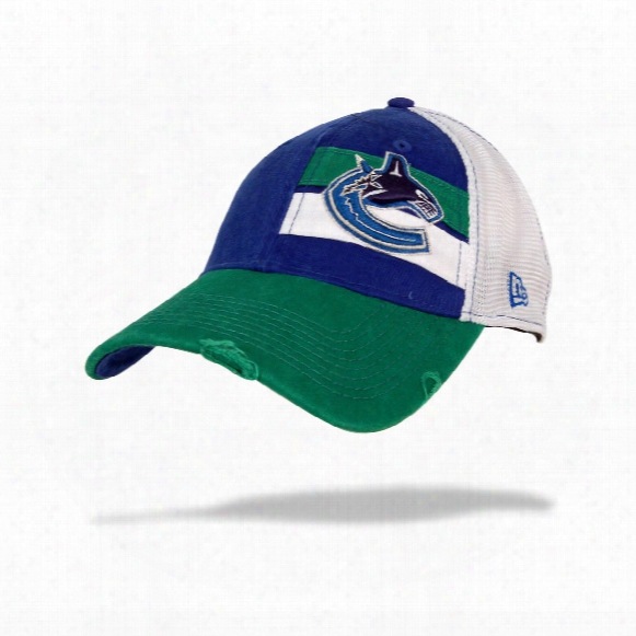 Vancouver Canucks Double Stripe Cap