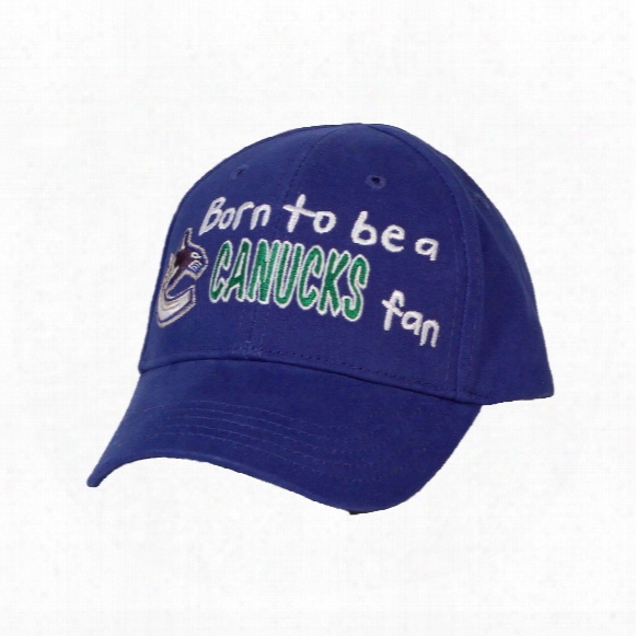 Vancouver Canucks Infant Born To Be A Fan Cap