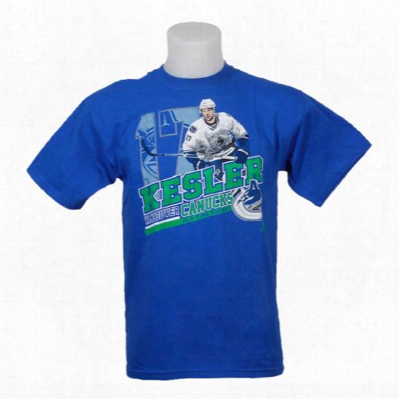 Vancouver Canucks Ryan Kesler Youth Persona T-shirt
