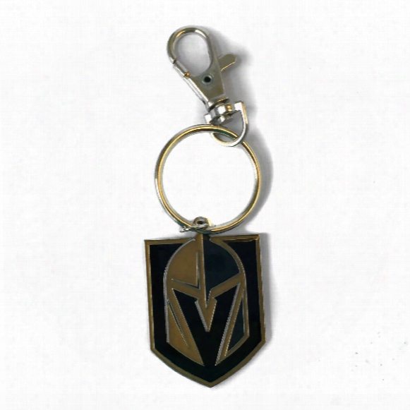 Vegas Golden Knights Logo Keychain