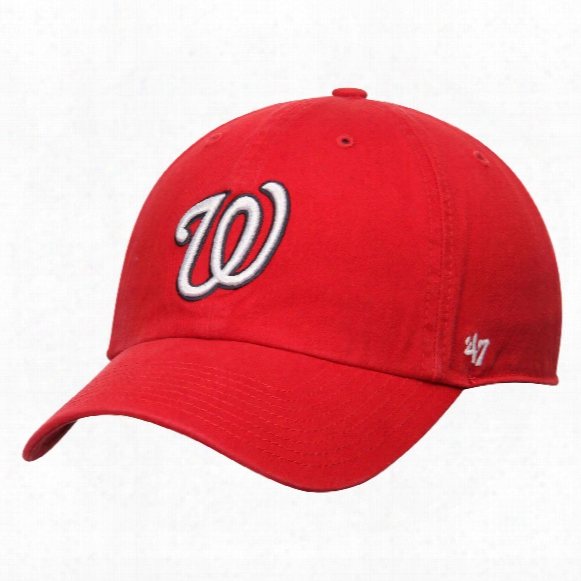 Washington Nationals Clean Up Cap