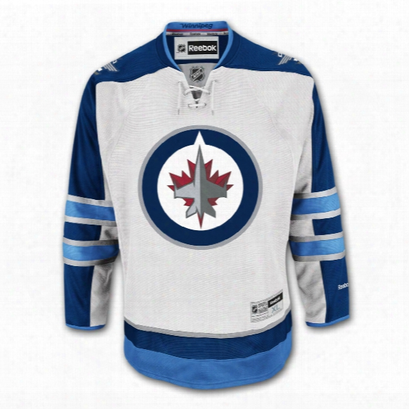 Winnipeg Jets Reebok Premier Replica Road Nhl Hockey Jersey