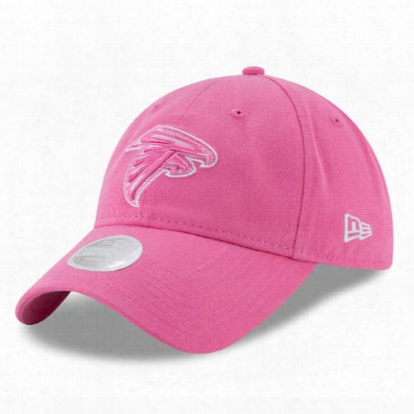 Atlanta Falcons Nfl Women's Preferred Pick Relaxed Fit 9twenty Cap - Pink