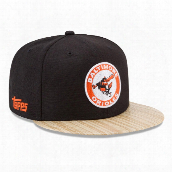 Baltimore Orioles Cooperstown Mlb X Topps 1987 9fifty Snapback Cap