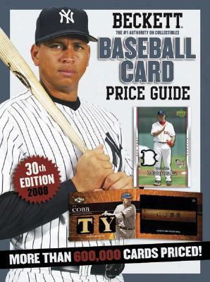 Beckett Baseball Card Price Guide, Number 30