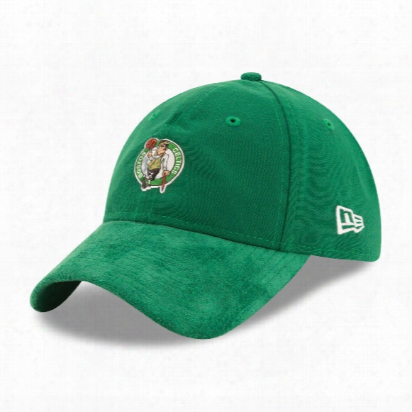 Boston Celtics New Era 2017 Nba Draft Official On Court Collection 9twenty Micro