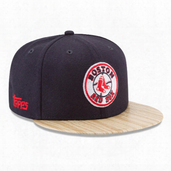 Boston Red Sox Cooprrstown Mlb X Topps 1987 9fifty Snapback Cap