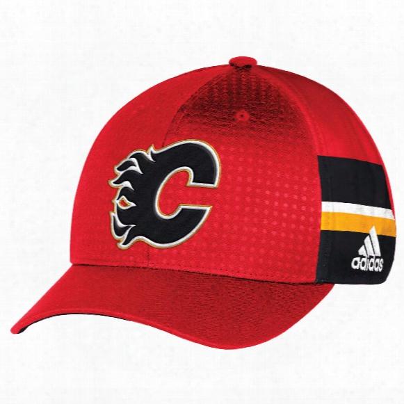 Calgaary Flames Nhl 2017 Adidas Official Draft Day Cap