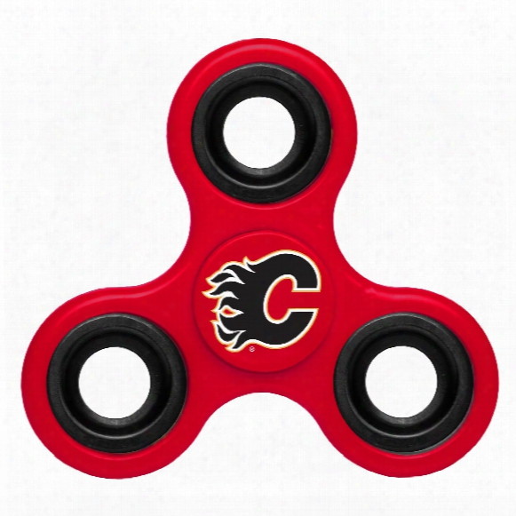 Calgary Flames Nhl 3-way Diztracto Spinner
