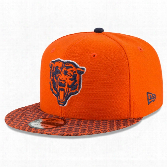 Chicago Bears New Era 9fifty Nfl 2017 Sideline Snapback Cap