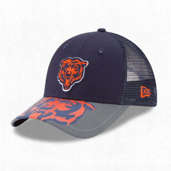 Chicago Bears Youth Mega Flect 9forty Cap
