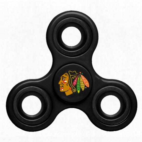Chicago Blackhawks Nhl 3-way Diztracto Spinner