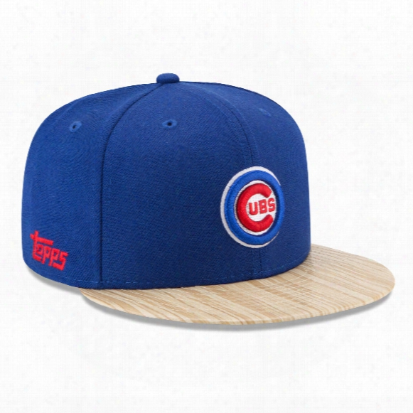 Ch Icago Cubs Cooperstown Mlb X Topps 1987 9fifty Snapback Cap