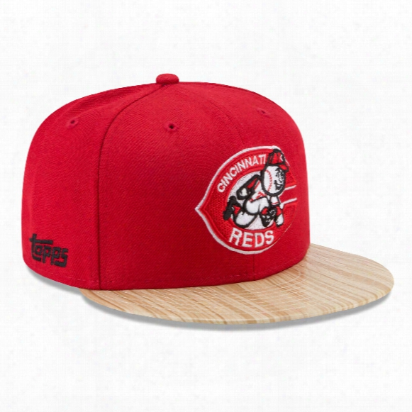 Cincinnati Reds Cooperstown Mlb X Topps 1987 9fifty Snapback Cap