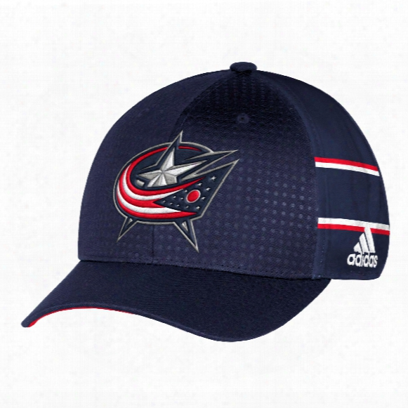 Columbus Blue Jackets Nhl 2017 Adidas Official Draft Day Cap