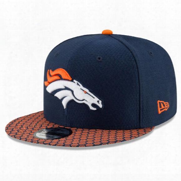 Denver Broncos New Era 9fifty Nfl 2017 Sideline Snapback Cap