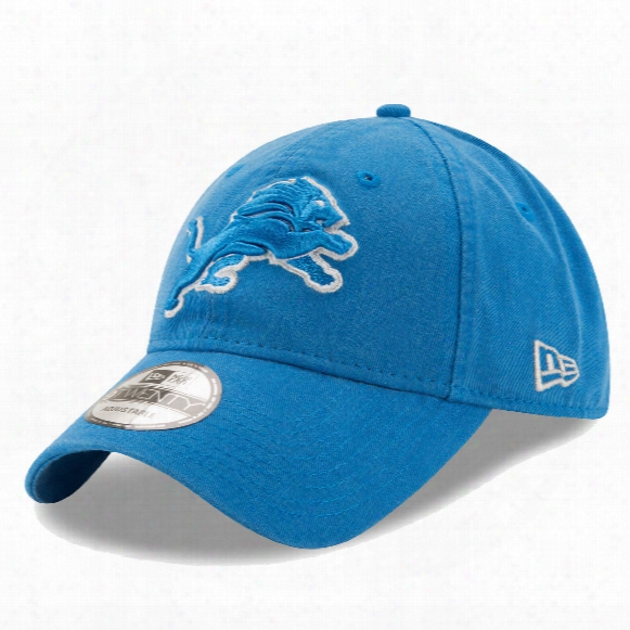Detroit Lions Core Classic Primary Relaxed Fit 9twenty Cap