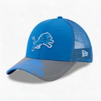 Detroit Lions Youth Mega Flect 9forty Cap