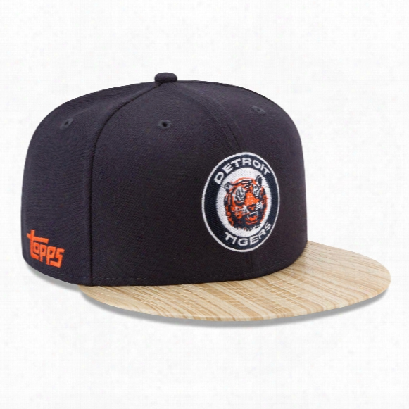 Detroit Tigers Cooperstown Mlb X Topps 1987 9fifty Snapback Cap