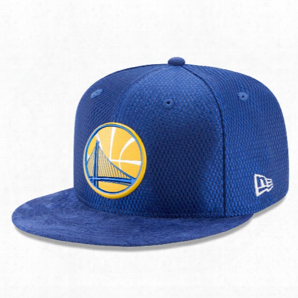 Golden State Warriors New Era Nba 2017 On Court Collection Draft 59fifty Cap
