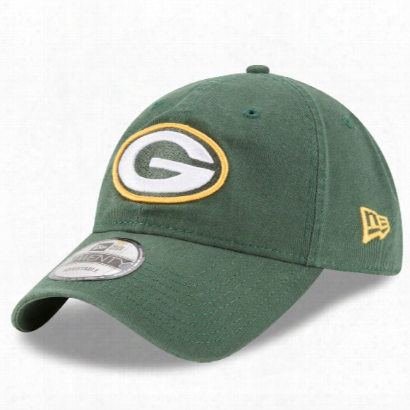 Green Bay Packers Core Classic Primary Relaxed Fit 9twenty Cap
