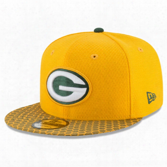 Green Bay Packers New Era 9fifty Nfl 2017 Sideline Snapback Cap