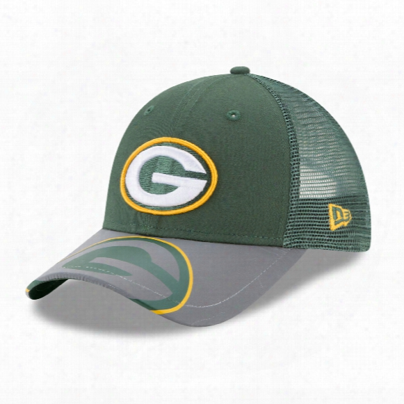 Green Bay Packers Youth Mega Flect 9forty Cap