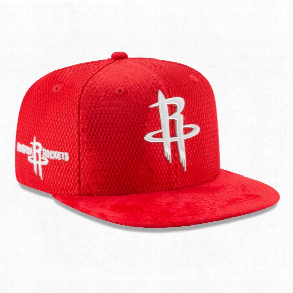 Houston Rockets Nnew Era Nba 2017 On Court Collection Draft 9fifty Snapback Cap