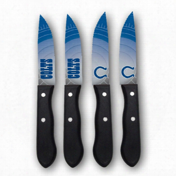 Indianapolis Colts Steak Knives (4-piece Set)