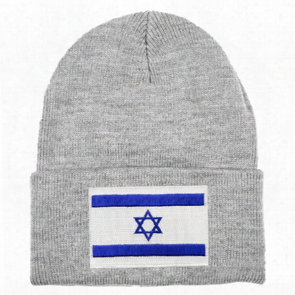 Israel Mycountry Solid Knit Hat (sport Gray)